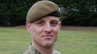 Corporal Alex Guy.