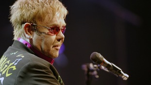 Elton John had to disappoint fans when strong winds forced the concert to end