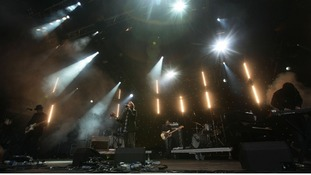 Rock group Radiohead are currently on their international tour.