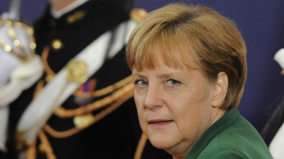 The German Chancellor  has warned the country it cannot renegotiate its bailout as the nation prepares to vote in today's crunch elections.