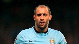 Pablo Zabaleta, Manchester City.