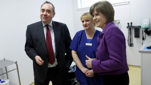 "The SNP claims independence would ""end austerity"" in the NHS."