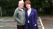 Hazel Blears MP with her Mum