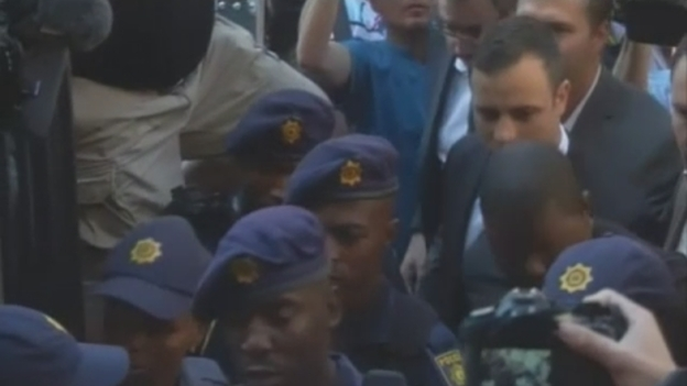Oscar Pistorius Arrives At Court To Learn Fate on oscar pistorius convicted of murder over the