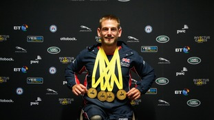Joe Townsend has won four gold medals at the Invictus Games