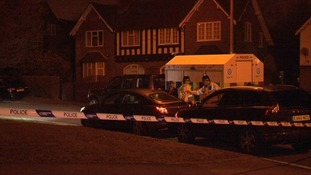 Police activity at Perry Hill Road in Sandwell