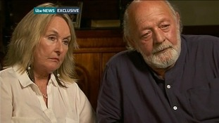 Reeva Steenkamp's parents June and Barry.