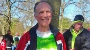 Actor George Telfer prepares to tackle his 13th marathon