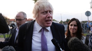 Boris Johnson selected as Uxbridge candidate