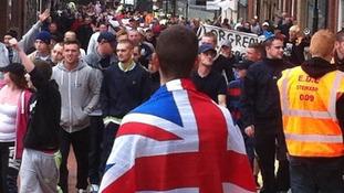 EDL members in Rotherham
