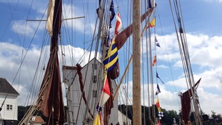 Maritime event at Woodbridge