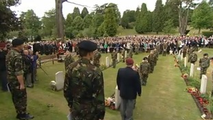 End of conflict remembered