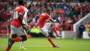 Britt Assombalonga scored the opener.