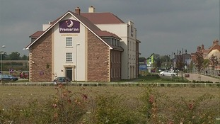 Premier Inn in Bedford where woman's body was found
