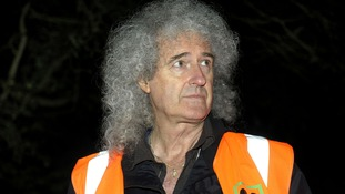 Brian May visits Gloucestershire