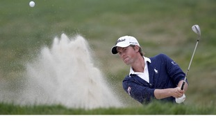 Webb Simpson of the United States
