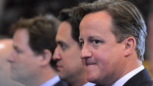 Cameron, Clegg and Miliband pledge powers to Scotland