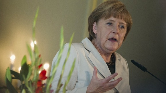German Chancellor, Angela Merkel