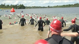 Great East Swim goes ahead a day late