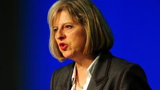 "Theresa May said Wright had ""failed"" in his duty."