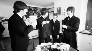 The Beatles at flat 7, Waddon House