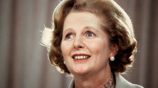 Margaret Thatcher died in April last year.