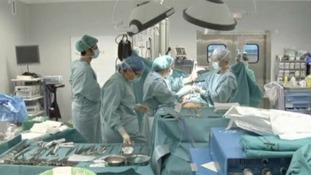 Organ donation operation