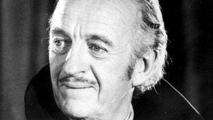 "David Niven as he appears in ""Vampire"" as Count Dracula"