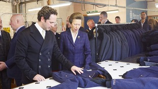 Company owner James Eden and HRH the Princess Royal