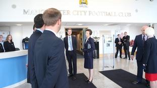 Princess Royal visits the Etihad
