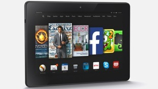 The new Fire HDX tablet