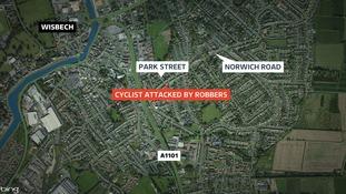 Wisbech bike robbery