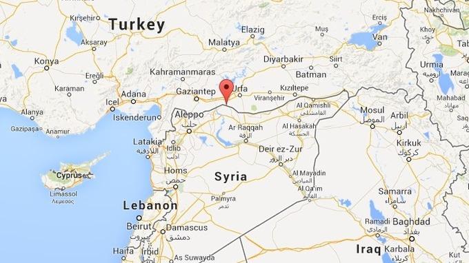 Is militants capture kurdish villages in syria itv news map gumiabroncs Gallery