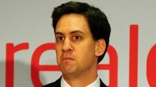 Ed Miliband speaks in Birmingham today