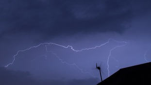 Overnight storms have led to problems on the roads and railways