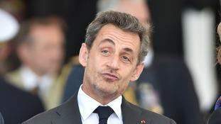 Former French president Nicolas Sarkozy.