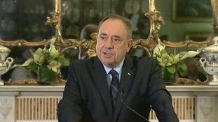 Alex Salmond has announced he is resigning from the Scottish National Party and as First Minister.