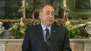 Alex Salmond resigns after independence rejection: Full statement