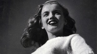 A young Marilyn Monroe