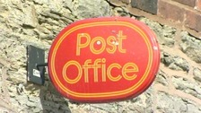 'Post Office' sign