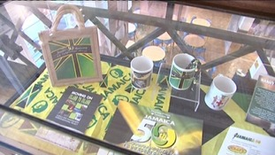 There is a new exhibition in the city celebrating 50 years of Jamaican independence.