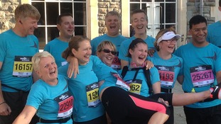 Members of St Michaels Church, Stoke Gifford, who have raised more than £3,000 for charity