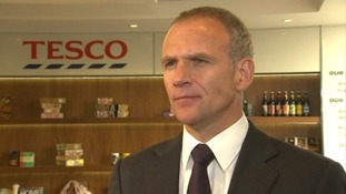 Tesco boss 'can't speculate' on what went wrong after profit shock