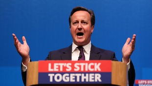 David Cameron campaigning before the referendum.