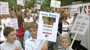 Vivary Green Wedge protest