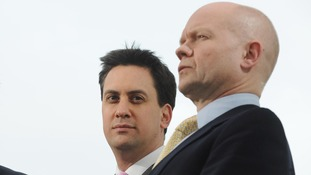 Hague throws down the gauntlet to Labour over devolution, as party squabbles begin again