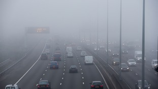 Thick fog delays flights and the morning commute as Autumn arrives across the region