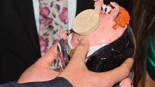 Pottery pig Prince Harry