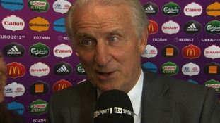 Ireland manager Giovanni Trapattoni.