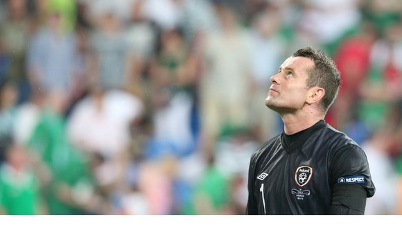 Ireland goalkeeper Shay Given.